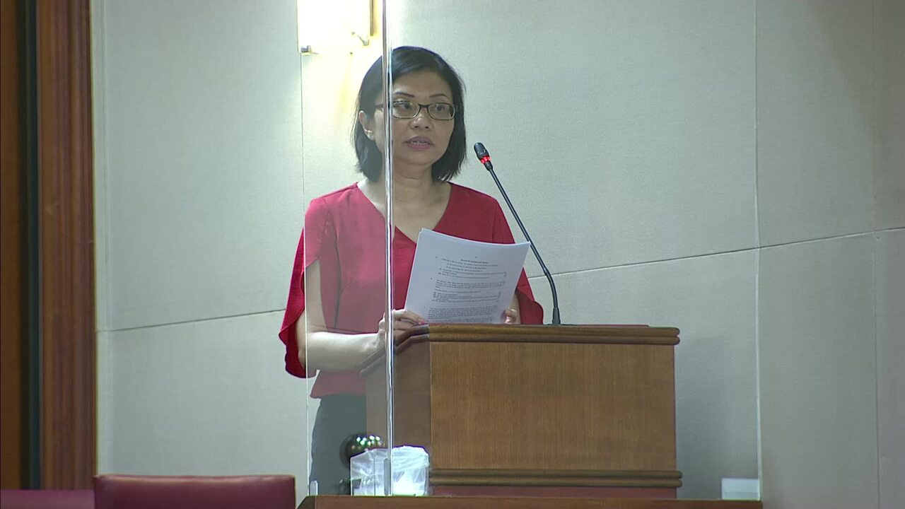 总统辩论's Address: Hazel Poa on allowing use 的 CPF savings in times 的 need