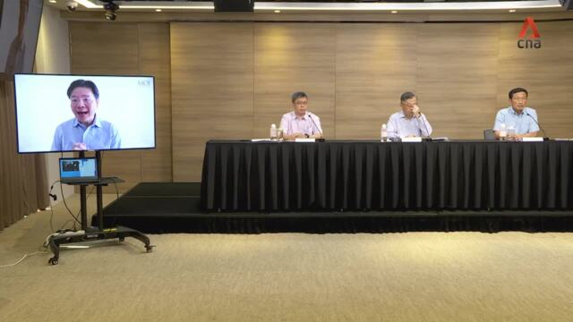 COVID-19: Full news conference on Singapore's return to Phase 2 Heightened Alert from Jul 22