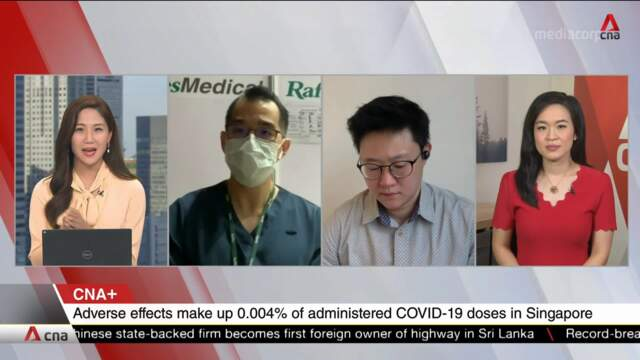 CNA+ Talking Point investigates efficacy of COVID-19 vaccine