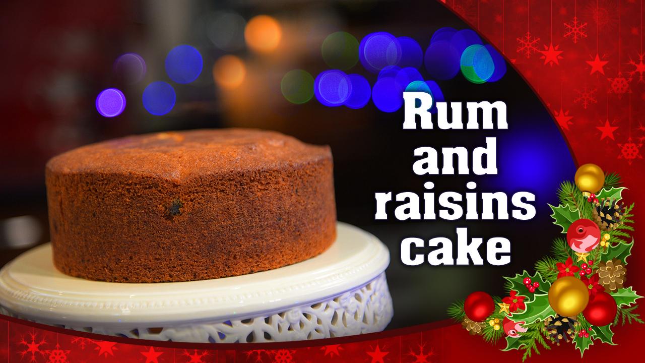 Xmas Cake Recipe In Malayalam: Rum And Raisins Cake
