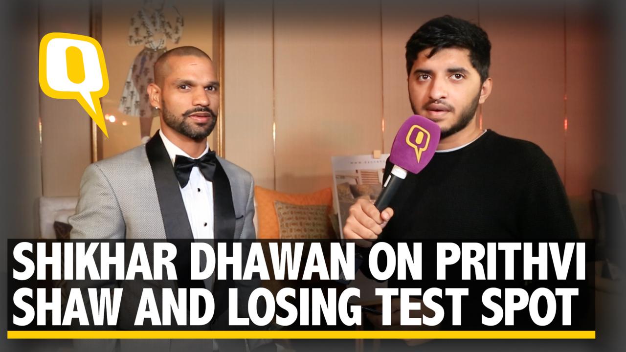 Shikhar Dhawan on Losing Test Spot, Prithvi Shaw & His New Venture - The Quint