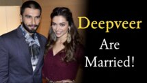 Deepika Padukone and Ranveer Singh are officially married