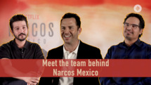 Michael Pena and Diego Luna reveal what to expect from Narcos: Mexico
