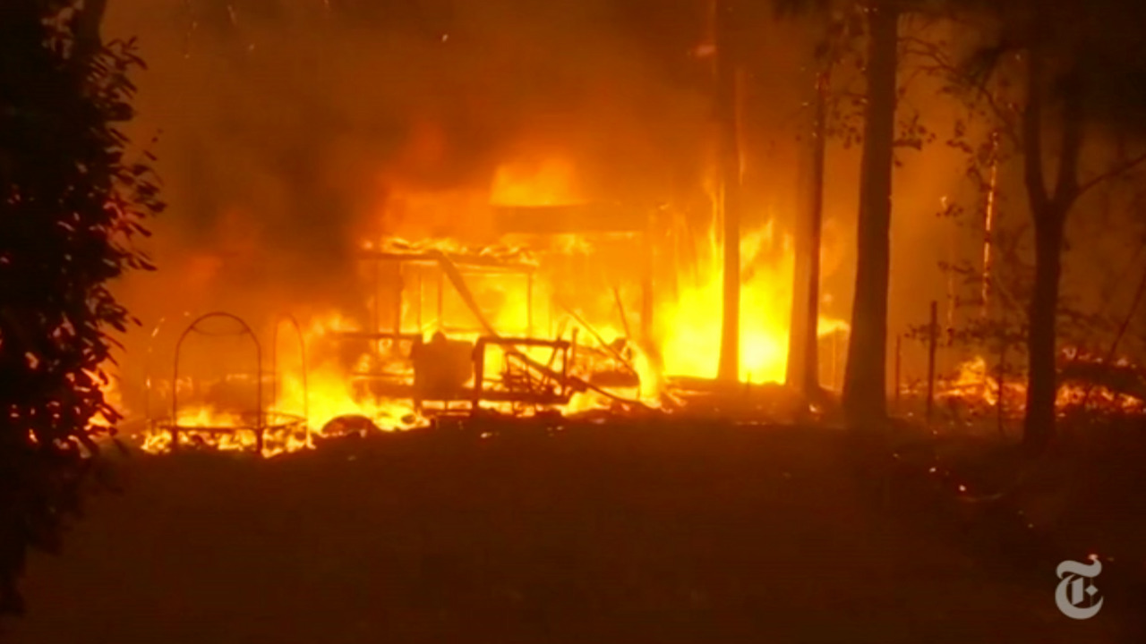 'I didn't know if I was gonna make it' | Wildfires Rage in California