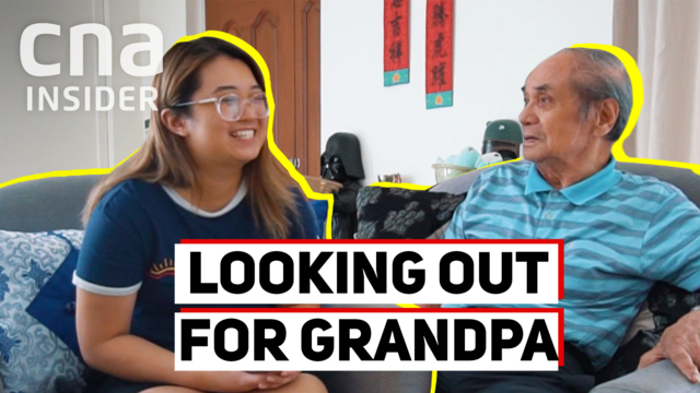 Looking out for grandpa with dementia