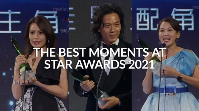 The best moments at Star Awards 2021 | CNA Lifestyle