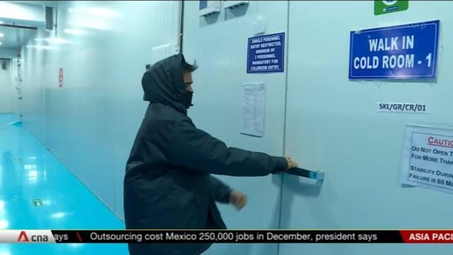India prepares cold storage facilities for COVID-19 vaccines | Video