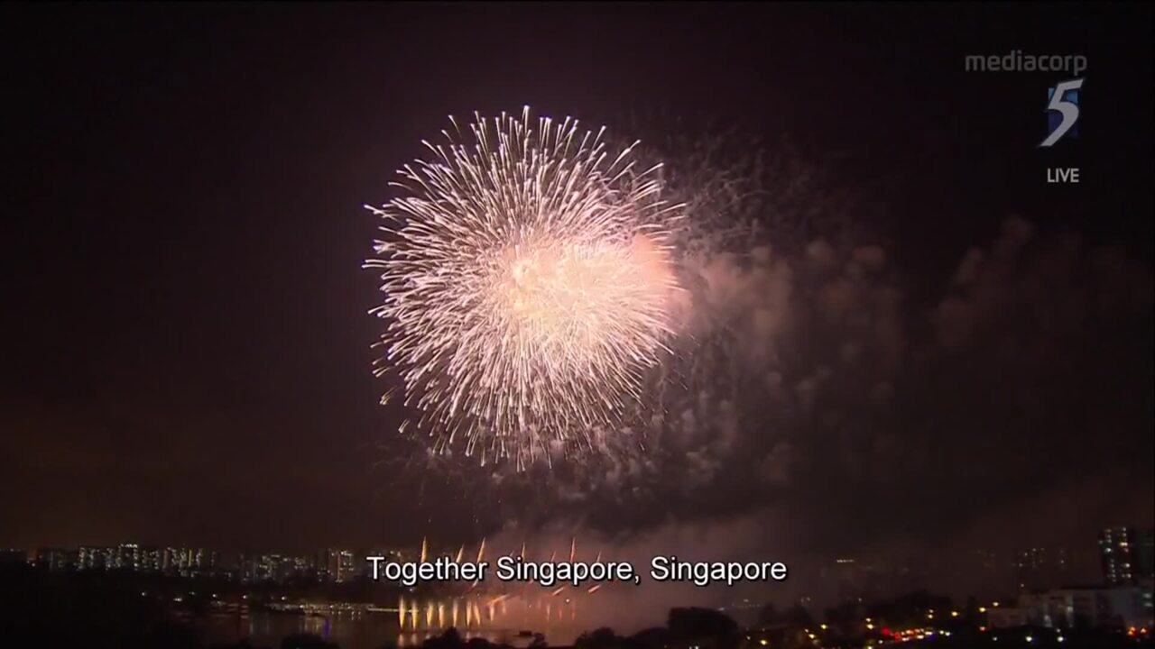 NDP 2020: Fireworks light up night sky on Singapore's 55th National Day