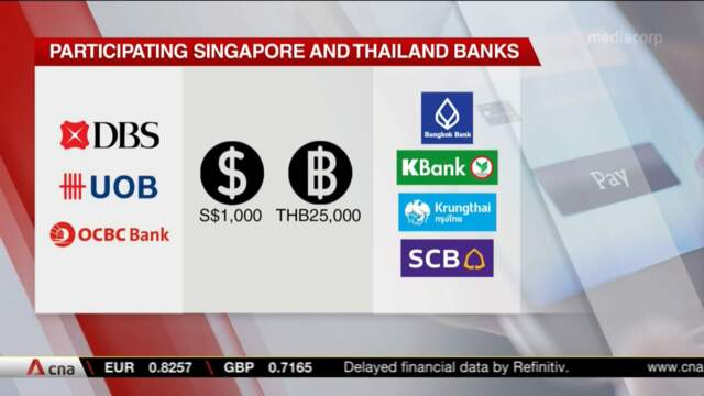 Singapore's PayNow linked to Thailand's PromptPay, allowing funds transfers 'within a matter of minutes' | Video