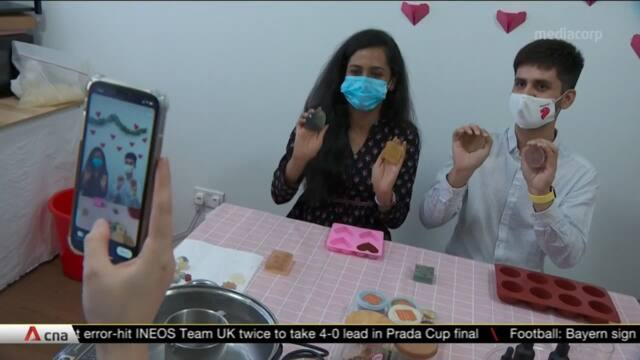 More opting for greener gifts, spending quality time while avoiding crowds on Valentine's Day | Video