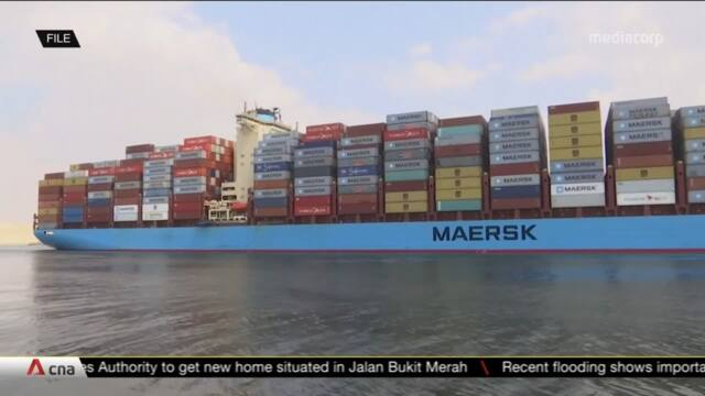 Singapore's Maritime Port Authority to set up global centre for decarbonisation solutions   Video