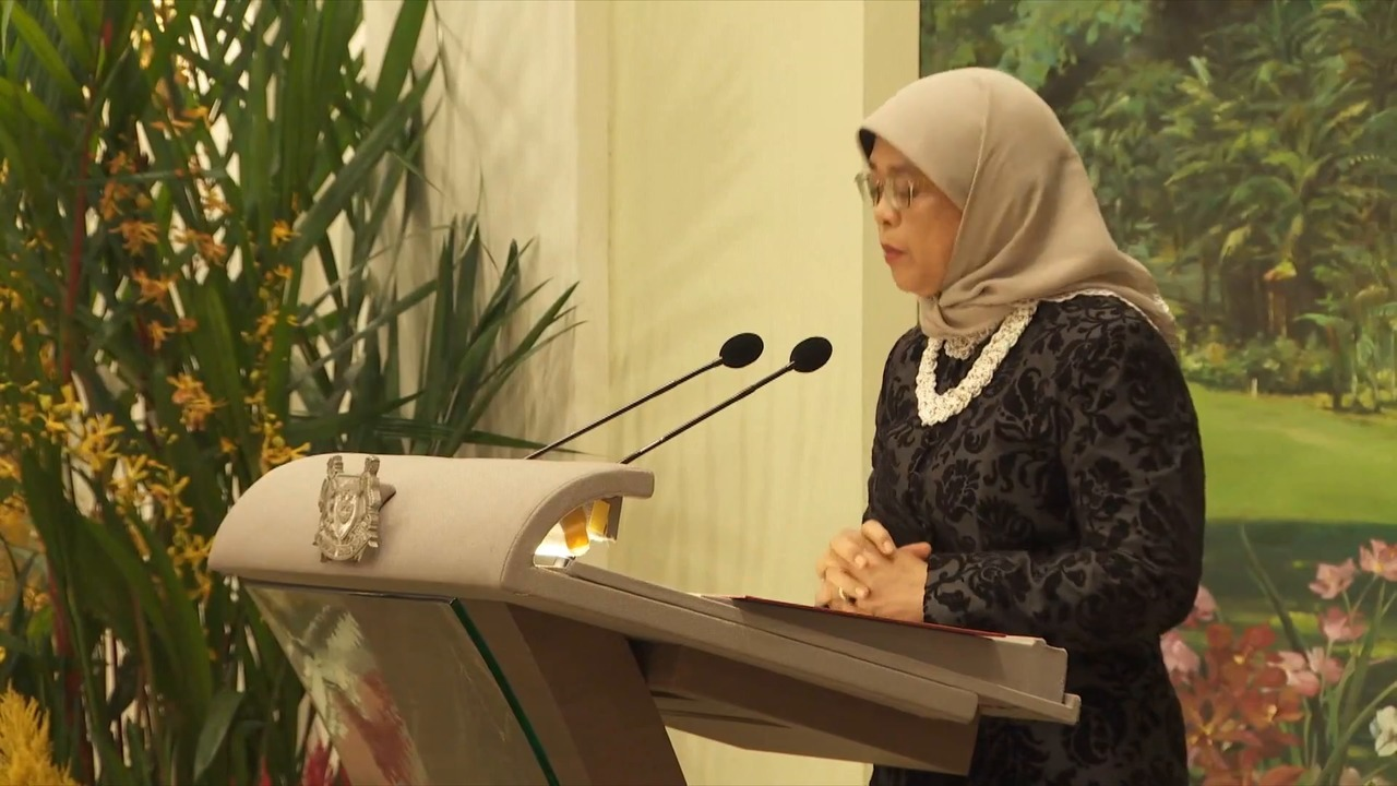 Despite differences, Singapore and Russia have 'long-standing friendship': President Halimah   Video
