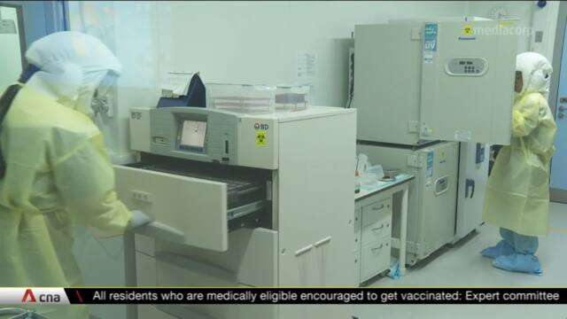 Inside Singapore's largest bio-containment research lab tackling COVID-19   Video