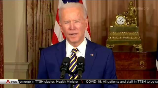 US President Biden tackles 'impossible challenge' in Middle East | Video