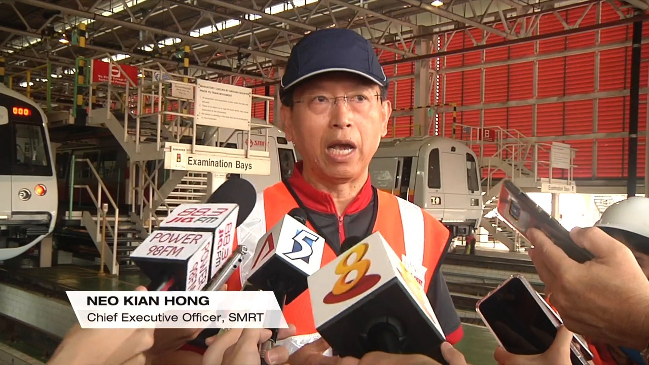 SMRT will win back the public's trust, says new CEO Neo Kian Hong | Video