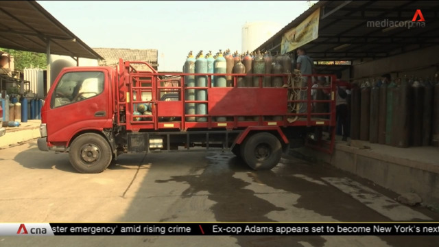 COVID-19: Oxygen shortage in Indonesia causing more deaths   Video