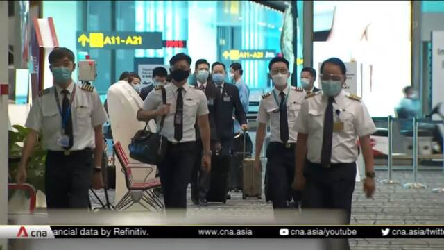 S$15 million support to help Changi Airport workers adjust to enhanced COVID-19 safety measures | Video