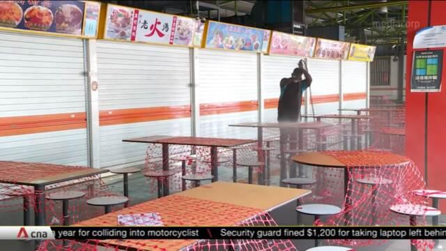 Mandatory COVID-19 testing wraps up for tenants, workers at 116 Bukit Merah View | Video