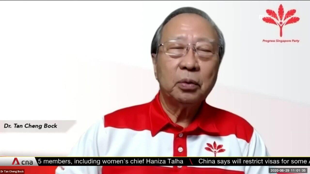 GE2020: Progress Singapore Party reveals manifesto with slogan 'You Deserve Better'   Video