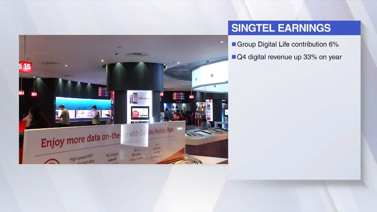 Singtel posts lowest annual profit in 16 years | Video