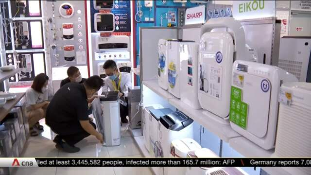 Rise in demand for air filters after increase in COVID-19 cases | Video