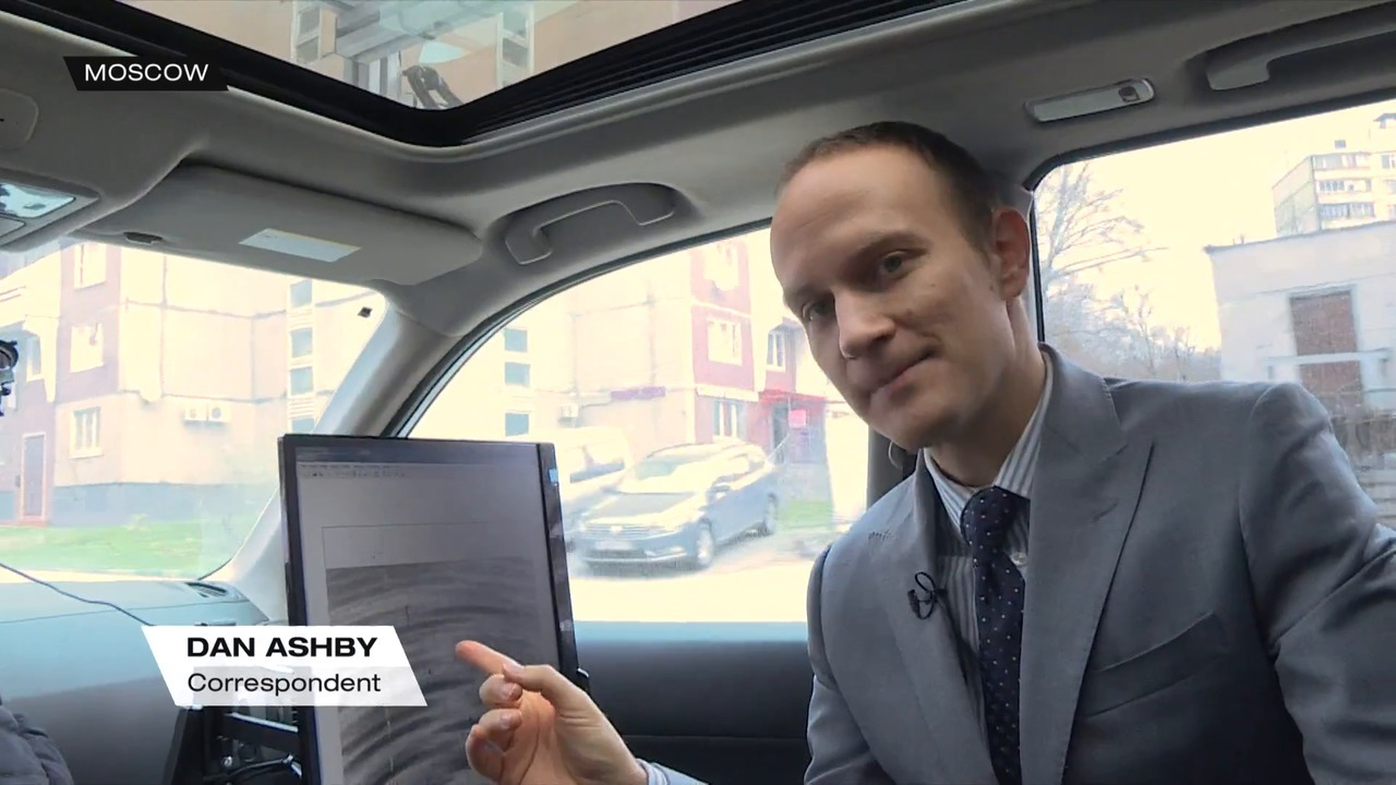 Russian driverless cars take to the road   Video