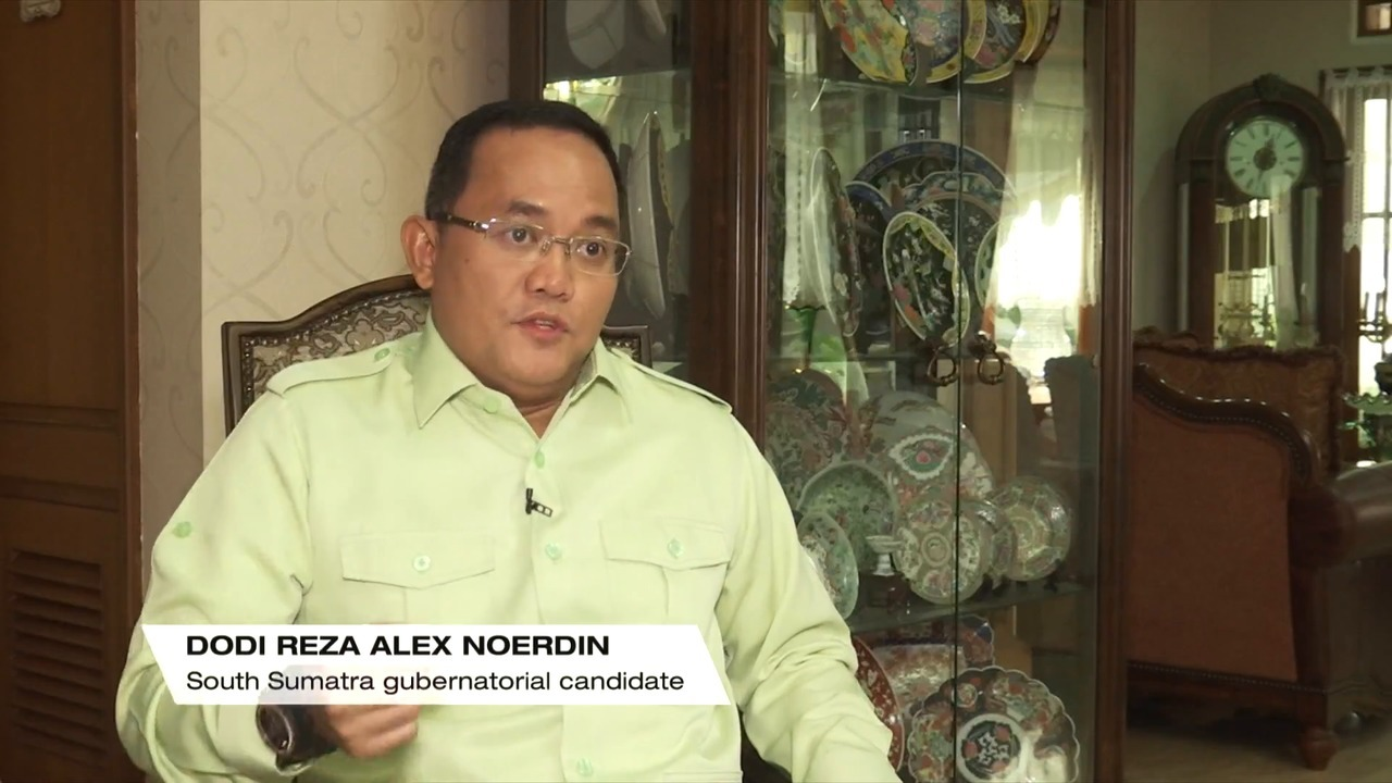 South Sumatra governor candidates say tackling haze is one of their top priorities | Video