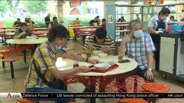 More than 4,500 diners reminded to return trays as dining-in restrictions eased | Video
