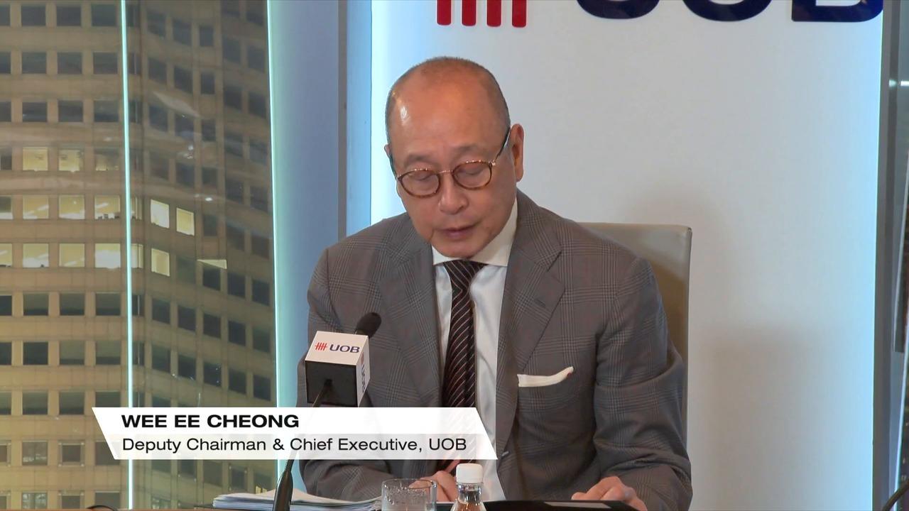 Singapore bank earnings: OCBC, UOB Q4 net earnings miss estimates   Video
