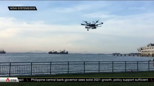 Drone air traffic management system to be trialled in March near Marina South Pier | Video