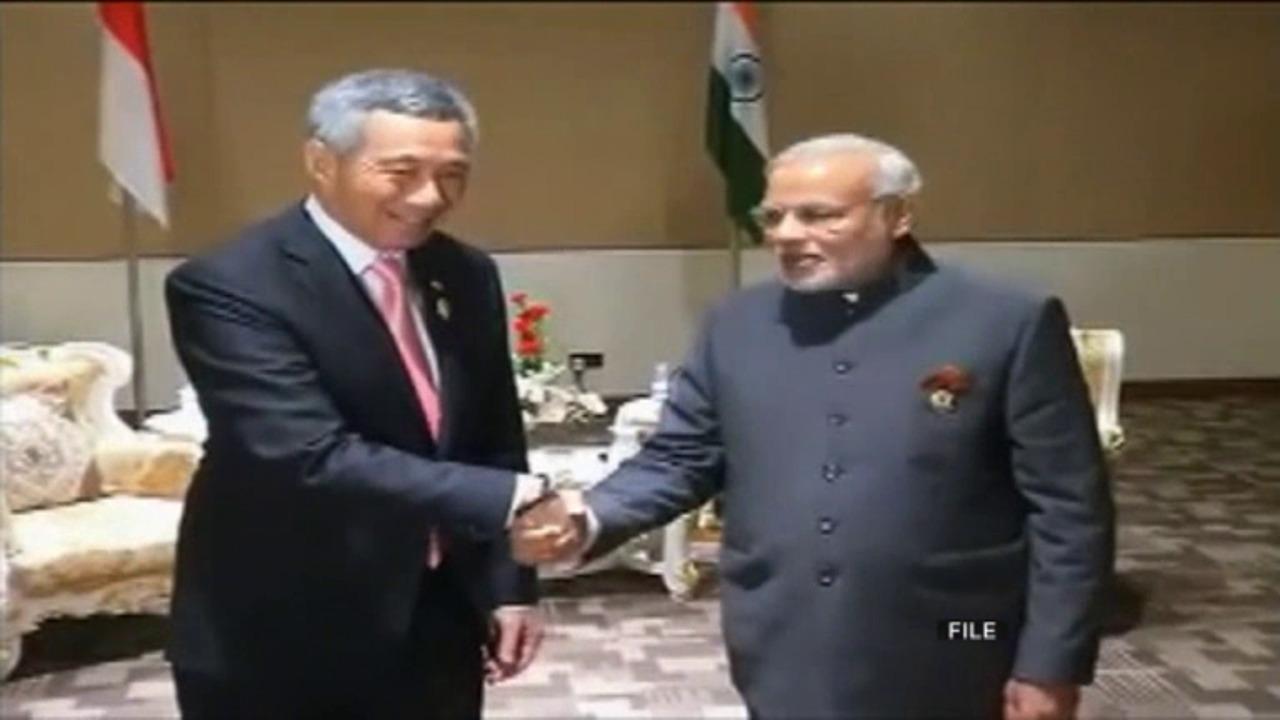 Singapore's success an inspiration for India: PM Modi