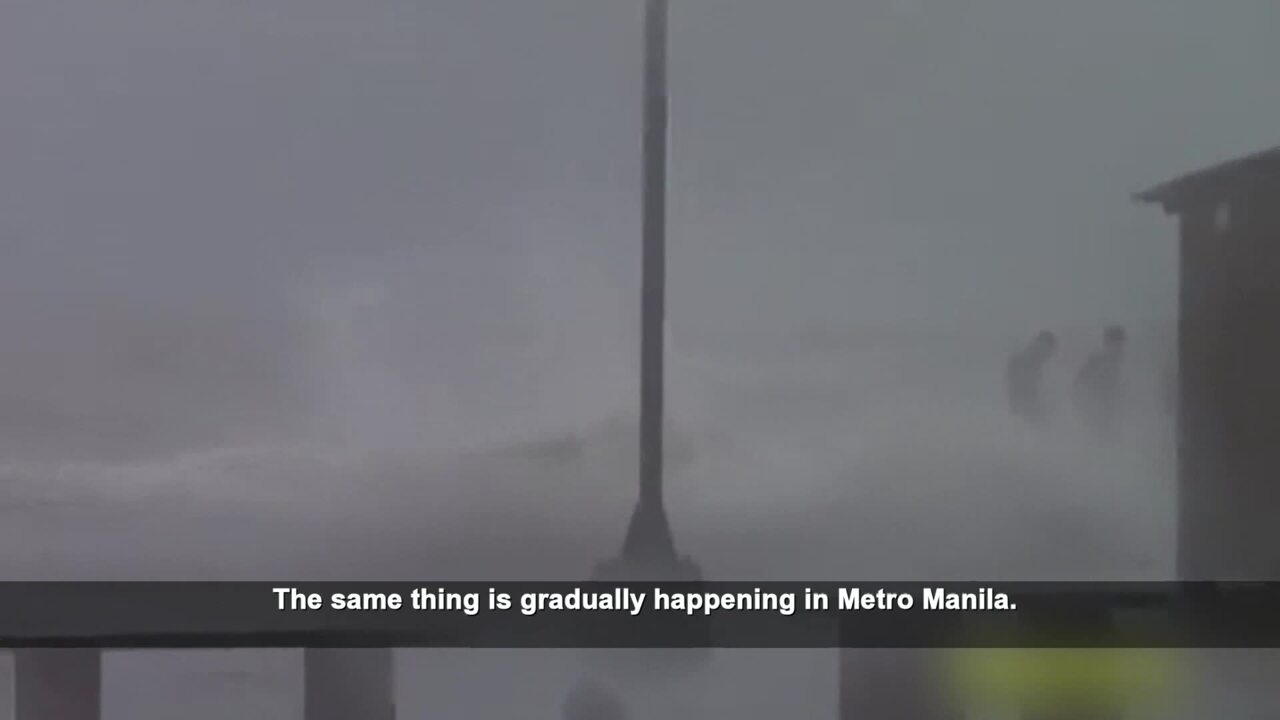 Asia's Sinking Cities: Manila
