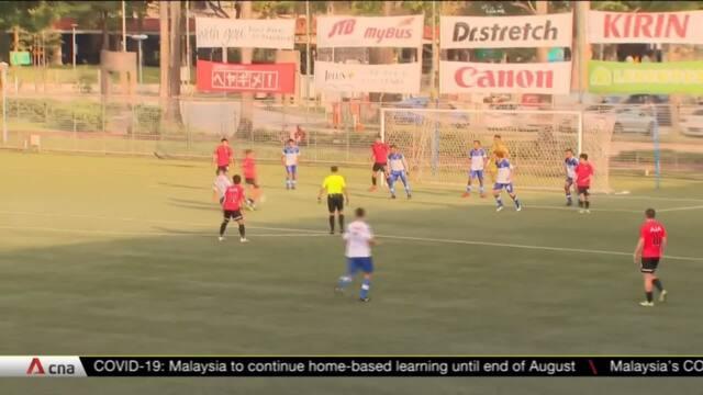 Fans return to stands as Singapore Premier League resumes | Video