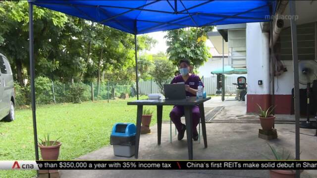Visits to elderly care homes resume; COVID-19 antigen rapid test needed for visitors | Video