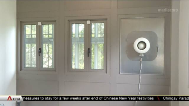 NUS researchers design window that reduces noise levels | Video