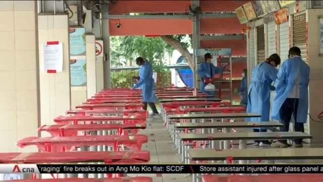 Telok Blangah Drive Food Centre stallholders hope to have mandatory COVID-19 testing exercise | Video