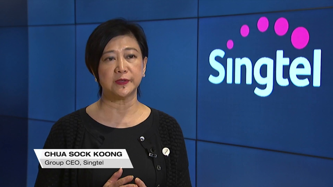 Singtel's Q1 profit falls 6.6% as competition hits affiliate income | Video