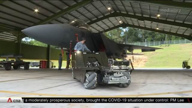 'Smart' RSAF airbases to use drones to detect intruders, more efficient munitions loader will be deployed | Video