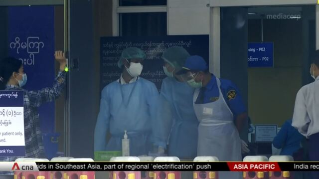 Some private hospitals in Myanmar to help government hospitals overloaded with COVID-19 cases   Video
