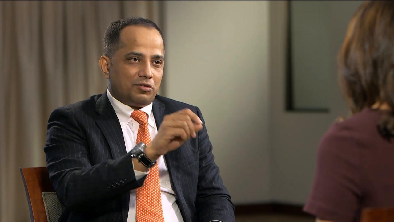 Singapore's Chief Fintech Officer Sopnendu Mohanty