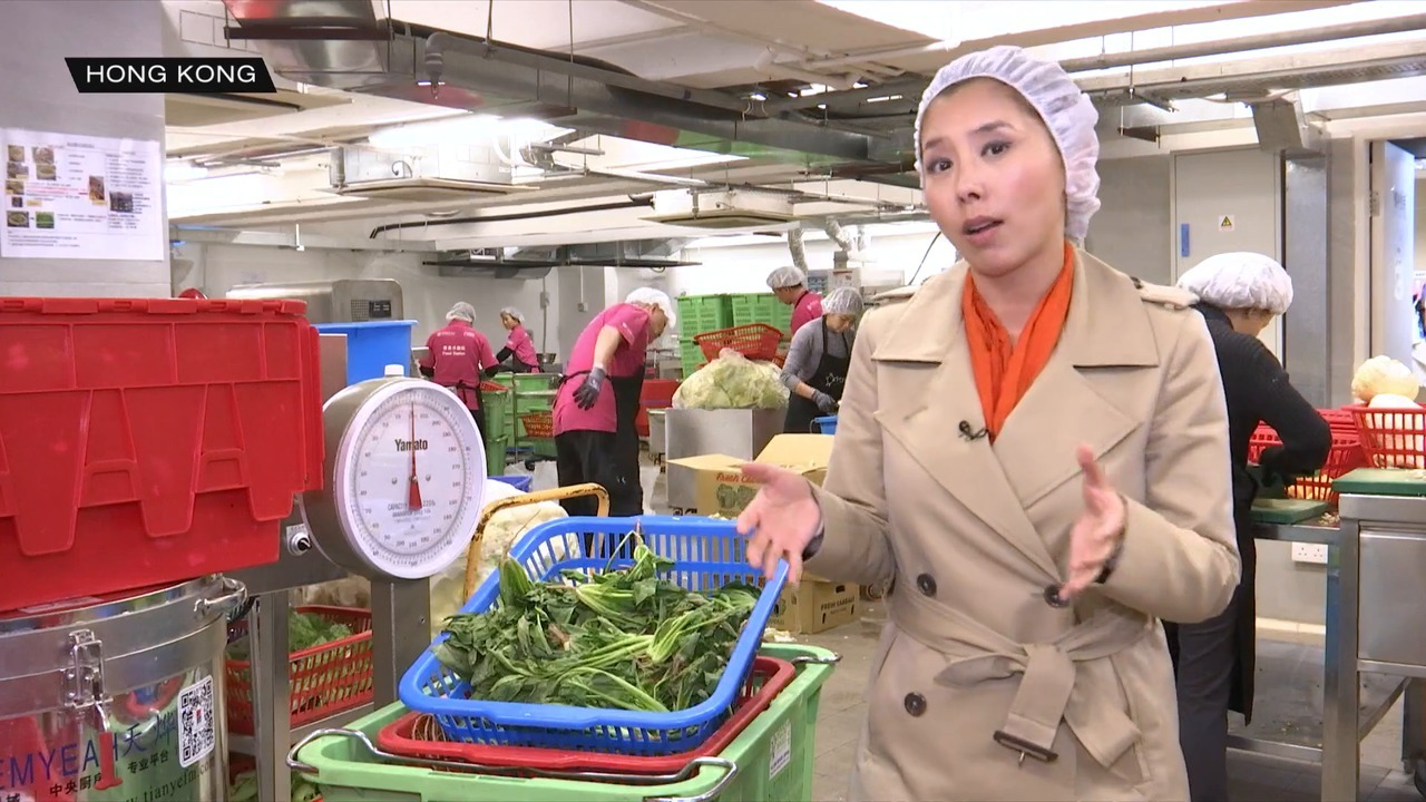 Hong Kong grapples with problems of food waste | Video