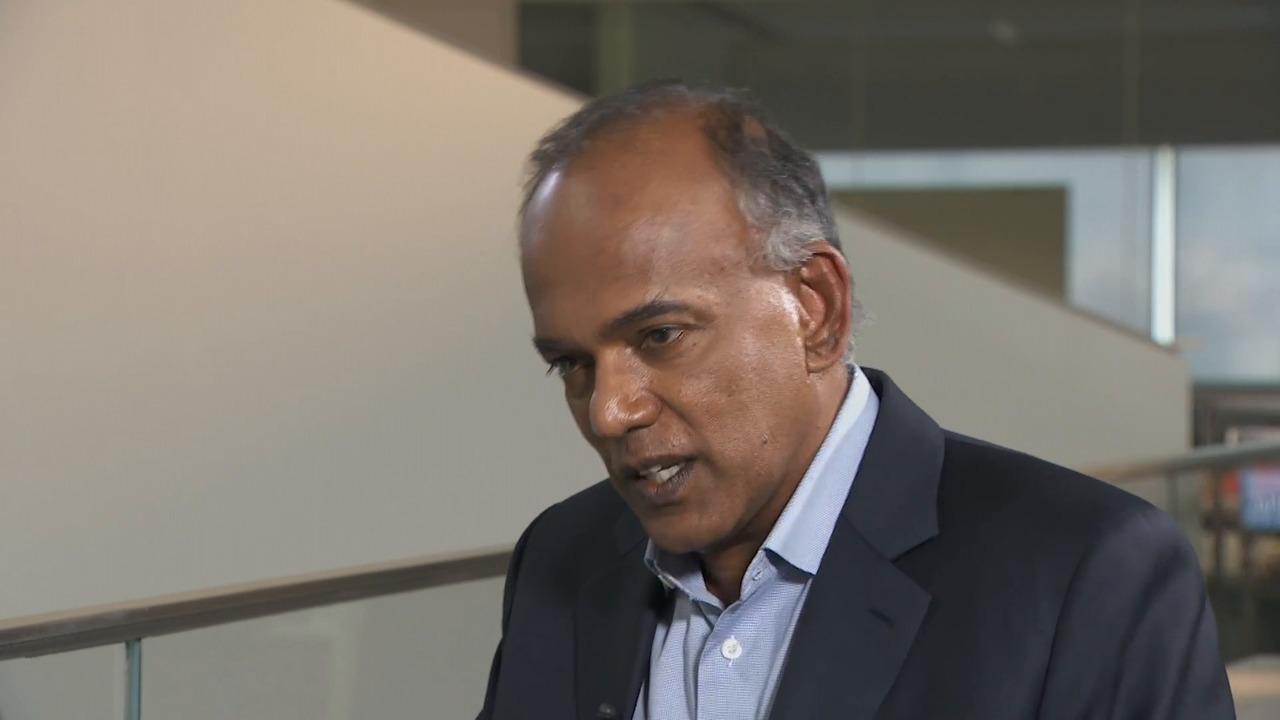 An Interview With Singapore Law Minister K Shanmugam