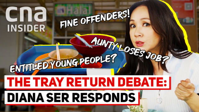 Tray return debate: The comment that got Diana Ser riled up