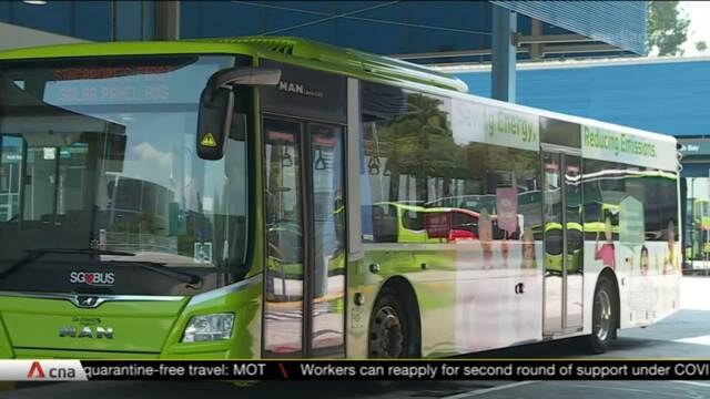 Go-Ahead to conduct six-month trial of buses with solar panels | Video
