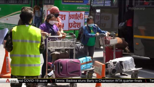 Nepali migrant workers forced to come home due to COVID-19 still struggling | Video