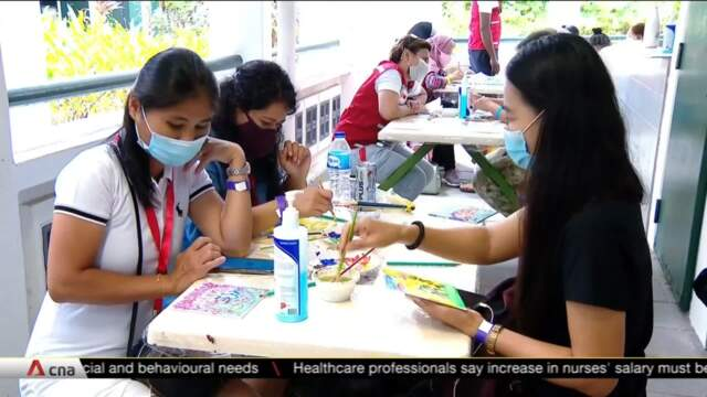 Alternative space for foreign domestic workers on rest days | Video