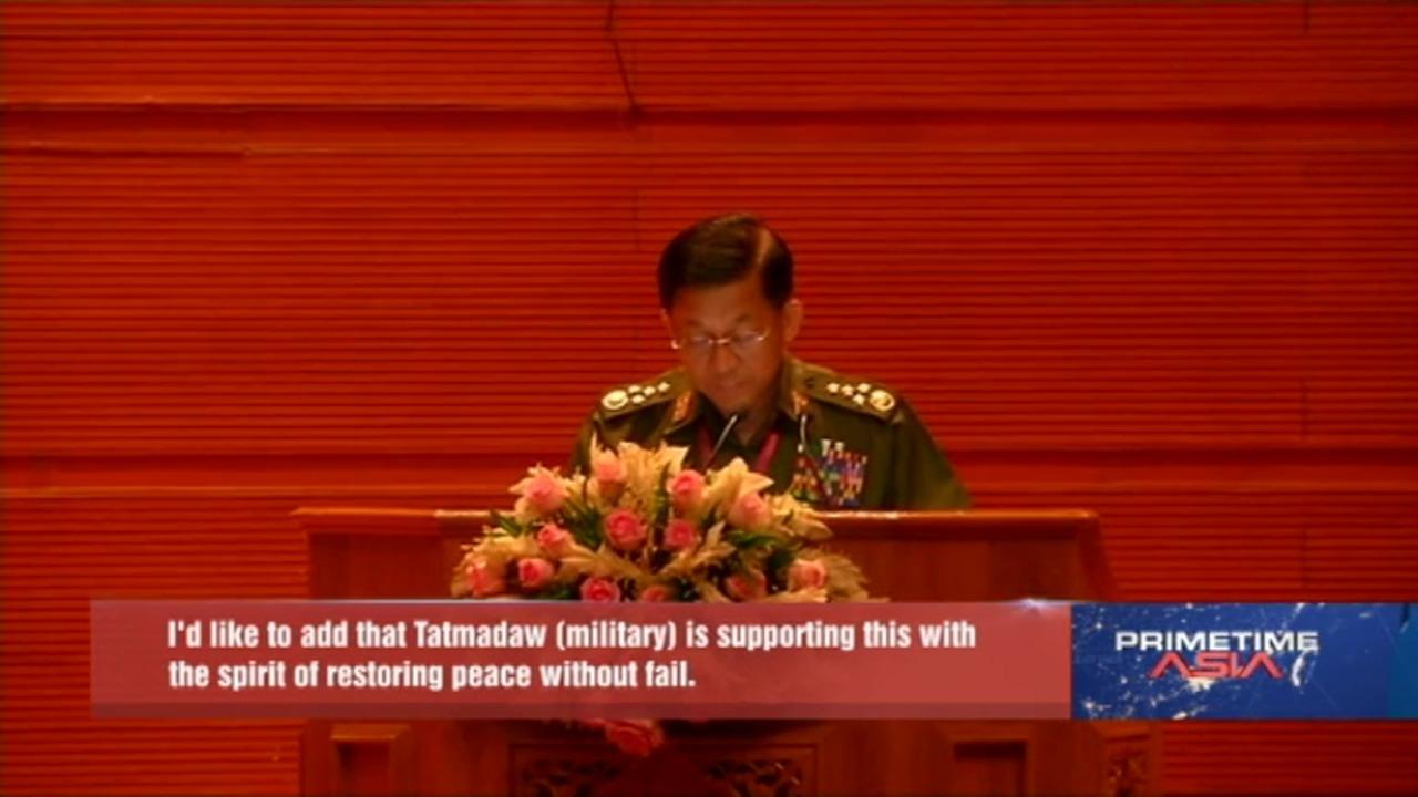 Peace vital to building democratic federal union: Myanmar's Suu Kyi