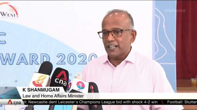 Many governments helping their country's media; SPH case no different: Shanmugam | Video