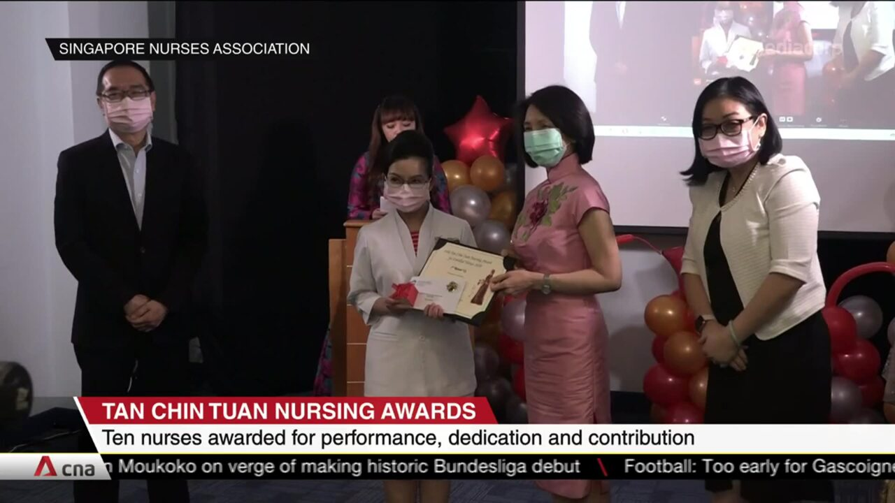 Ten nurses given awards for performance, dedication and contribution | Video
