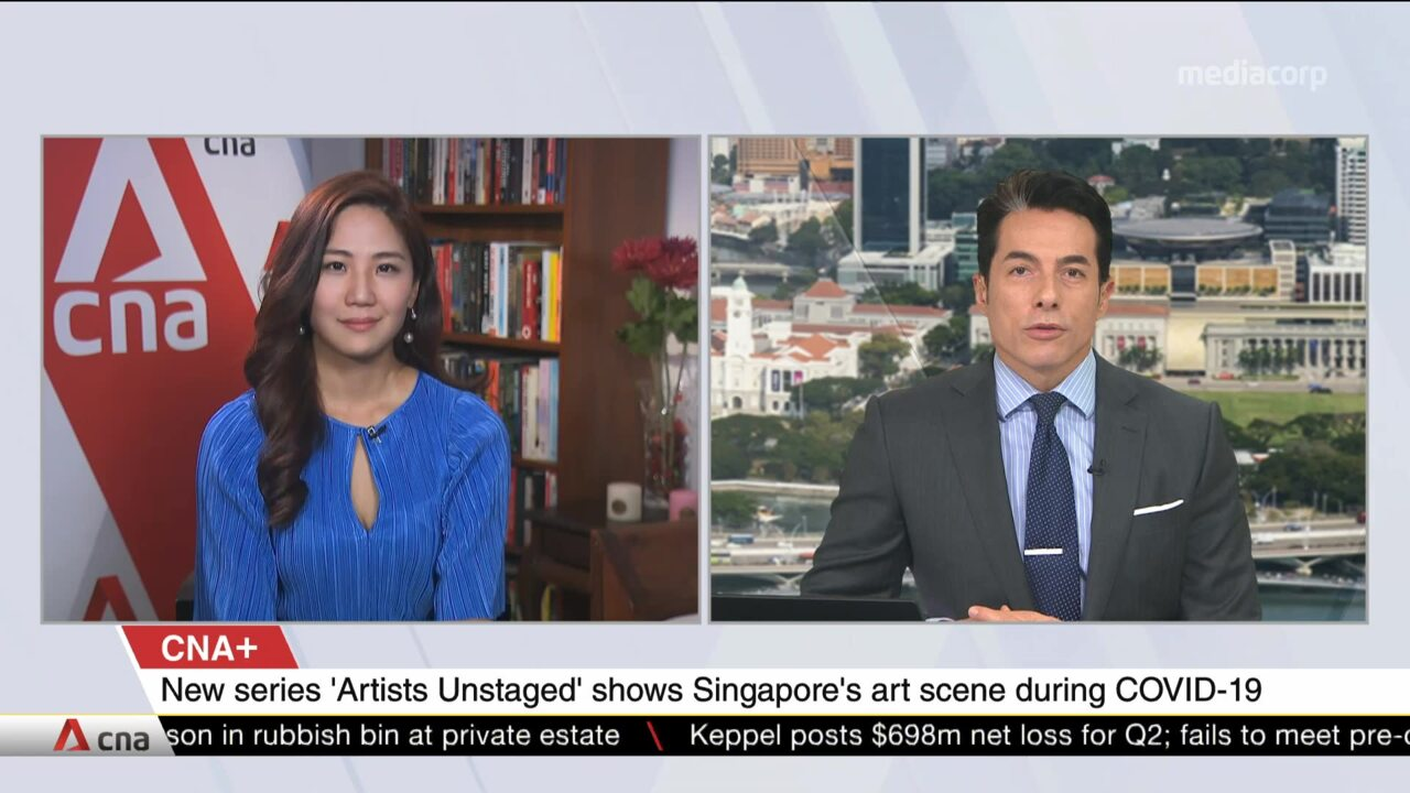 CNA+: New series Artists Unstaged casts spotlight on Singapore's art scene amid pandemic